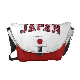 Japan + Flag Courier Bag
