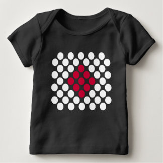 Japan Flag minimalist dots babies t-shirt