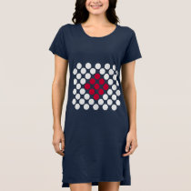 Japan Flag minimalist dots Women's Dress