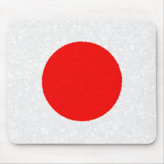 JAPAN FLAG MOUSE PAD