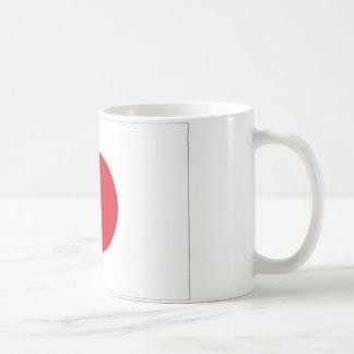Japan Flag Classic White Coffee Mug