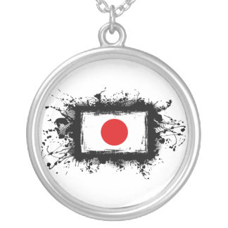 Japan Flag Pendants