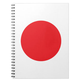 Japan Flag Note Book