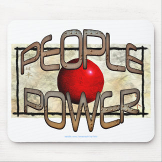 JAPAN FLAG People Power Independence Motivation Mouse Pad