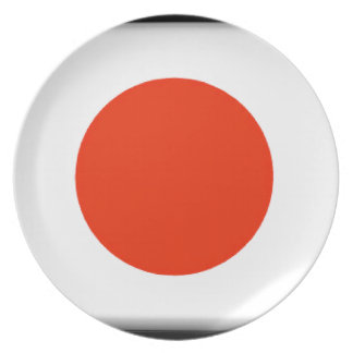 Japan Flag Party Plates