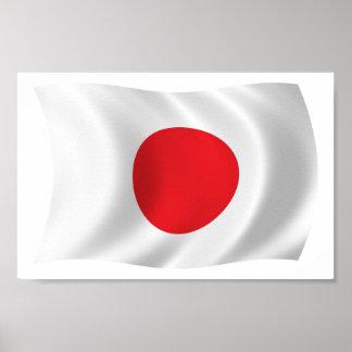 Japan Flag Poster Print