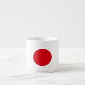 Japan Flag 6 Oz Ceramic Espresso Cup