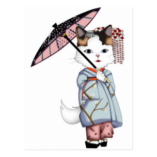 Japan Floating World of Maiko and Geisha Post Cards
