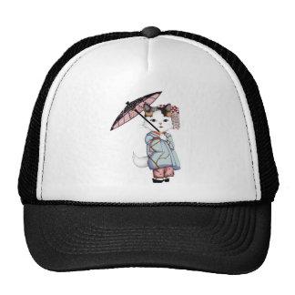 Japan Floating World of Maiko and Geisha Trucker Hat