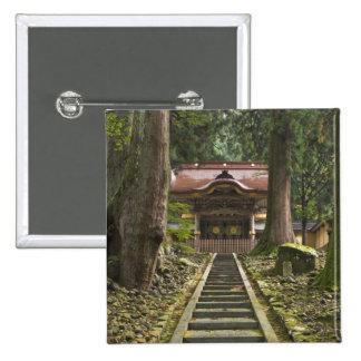 Japan, Fukui, Eiheiji Temple Pinback Button