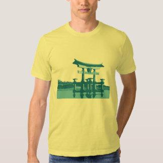 Japan Gate Blue stile T-Shirt