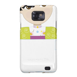 Japan Girl Sign Samsung Galaxy S2 Cases