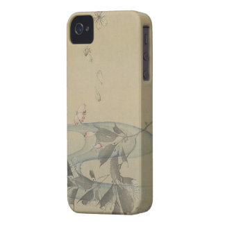 Japan:  Graceful Flower iPhone 4 Case