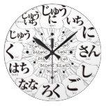 hiragana nihongo comic manga sign phonetic simple modern chinese characters japanese callygraphy black white japanese culture 書 ひらがな かな 白 黒 時計 モノクロ 平仮名