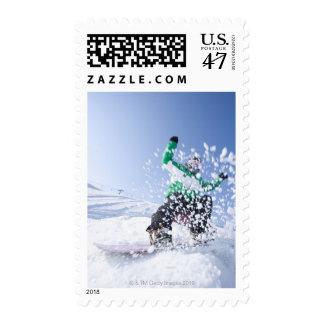 Japan, Hokkaido, Niseko Stamp