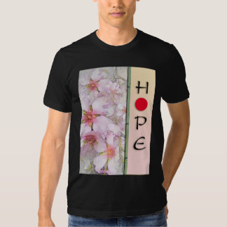 Japan Hope Almond Blossoms T-shirt