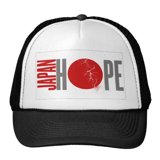 JAPAN HOPE - EARTHQUAKE TRUCKER HAT