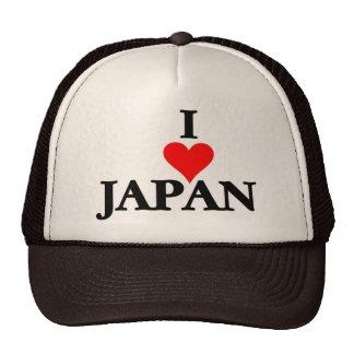 Japan - I Love Japan Hats