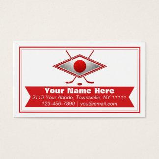 Japan Ice Hockey Flag Custom Business Cards