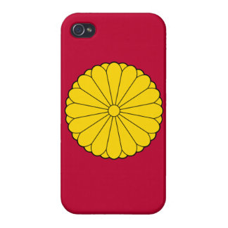 Japan Imperial Seal iPhone Case Covers For iPhone 4