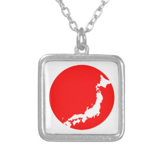 Japan In Ciricle Pendant