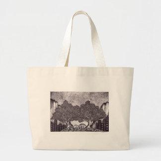 Japan ink landscape bag