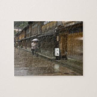 Japan, Ishikawa, Kanazawa, Higashi Chaya Puzzle