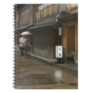 Japan, Ishikawa, Kanazawa, Higashi Chaya Spiral Notebook