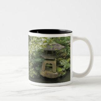 Japan, Ishikawa, Kanazawa, Nomura Samurai House Two-Tone Coffee Mug