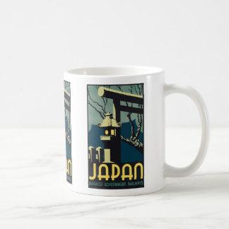 Japan Japanese Government Railways, Vintage Coffee Mug