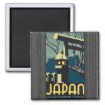 Japan Japanese Government Railways, Vintage Magnets