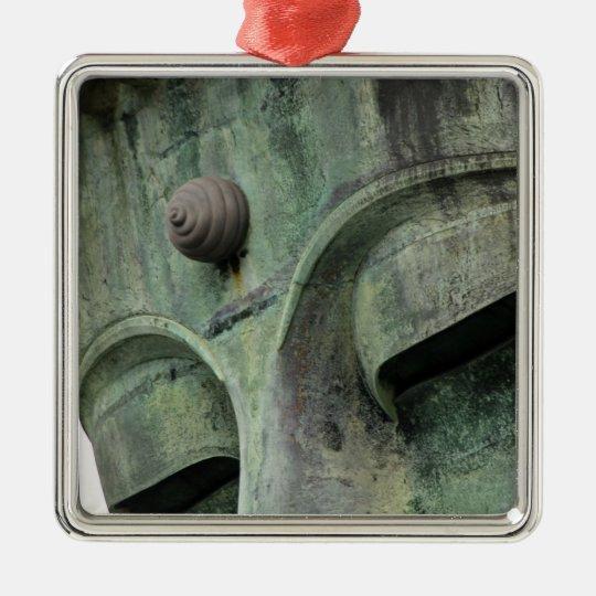 Japan, Kamakura. The Great Buddha of Kamakura, a Metal Ornament