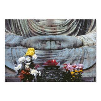 Japan, Kanagawa Pref., Kamakura. Floral Photo Print