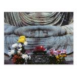Japan, Kanagawa Pref., Kamakura. Floral Postcard