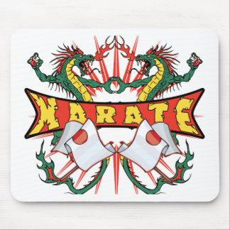 Japan Karate Dragons Mouse Pad