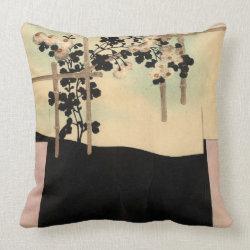 Japan - kimono design 1900 pillow