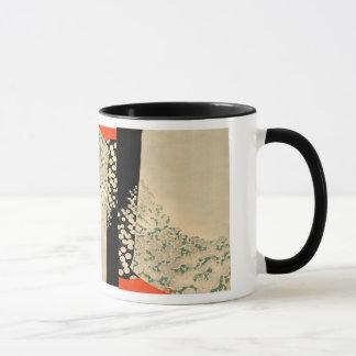Japan - kimonoo design- 1891 taza