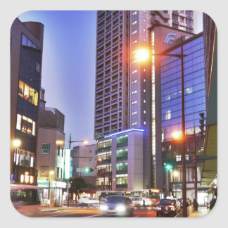 Japan Kitakyushu Town Square Sticker
