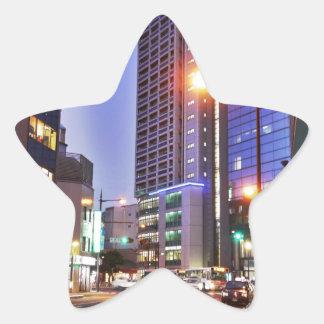 Japan Kitakyushu Town Star Sticker