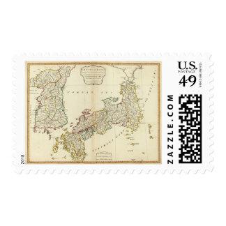 Japan, Korea Stamps
