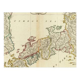 Japan, Korea Postcard