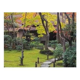Japan, Kyoto, Arashiyama, Okochi Sanso Postcard