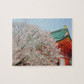 Japan Kyoto Cherry blossom of Shinto Puzzles