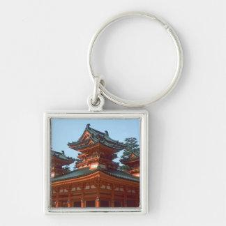 Japan, Kyoto, Colorful Heian Jingu Temple, Key Chains