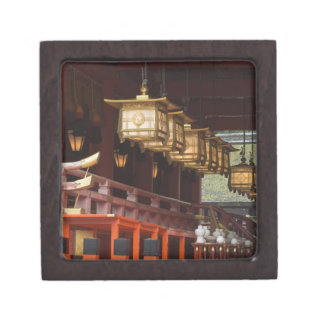 Japan Kyoto Fushimi Inari Grand Shrine 2 Premium Jewelry Box