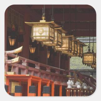 Japan, Kyoto, Fushimi, Inari Grand Shrine 2 Square Sticker