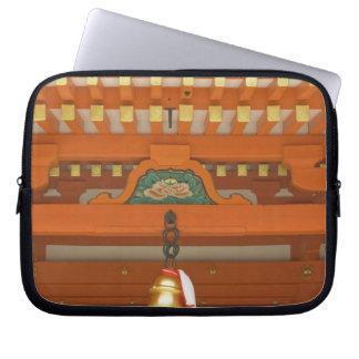 Japan, Kyoto, Fushimi, Inari Grand Shrine Laptop Sleeves