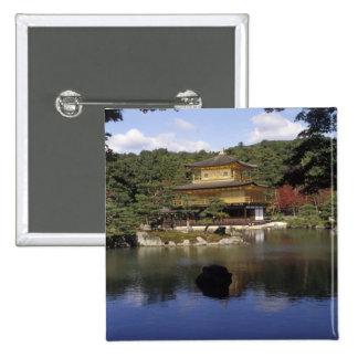 Japan, Kyoto, Golden Pavilion, Zen Temple Button