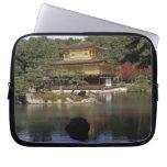 Japan, Kyoto, Golden Pavilion, Zen Temple Laptop Sleeve