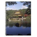 Japan, Kyoto, Golden Pavilion, Zen Temple Notebook